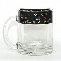 """Кружка чайная """"Черный кофе"""", 300 мл"""