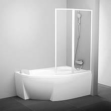 Шторы для асимметричных ванн Ravak