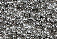Декоративні перлини — срібло Ø6 - 200 г