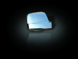 Накладки на дзеркала (2 шт., нерж.) - Hyundai H1 Starex H300 2008+ рр.