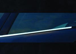 Зовнішня окантовка вікон (2 шт., нерж.) - Hyundai H1 Starex H300 2008+ рр.