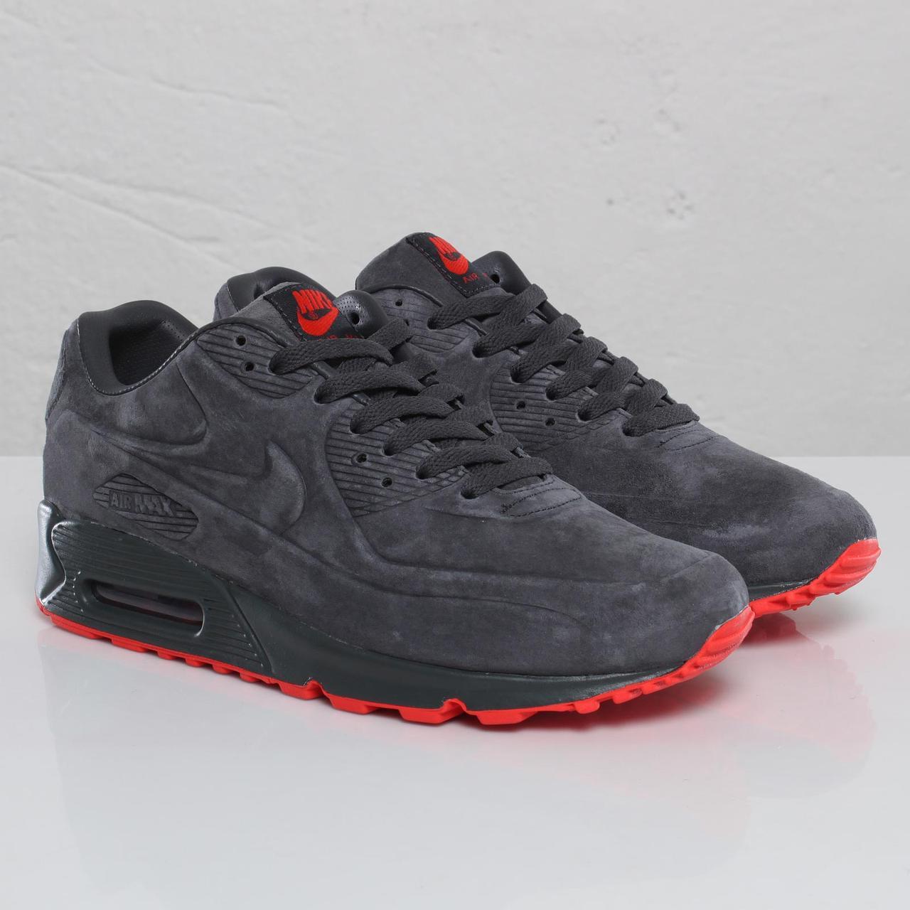 8bb27626 Кроссовки в стиле Nike Air Max 90 VT Tweed Grey 46 размер (C мехом ...