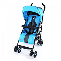 Коляска прогулочная CARRELLO Corsa CRL-1401 DARK GREY+BLUE