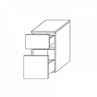Нижний шкаф со столешницей Gorenje Fresh BKG 30.24