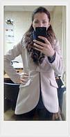 Пальто женское фрак