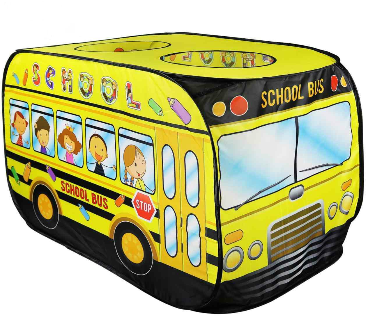 Палатка игровая детская домик Bambi M 3716 автобус