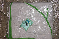 Полотенце уголок махровое для купания Украина