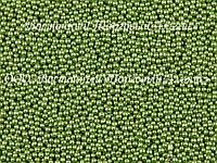 Декоративные жемчужины — Зелёные Ø2(3) - 200 г