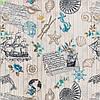 Шторы в стиле Прованс, ткань 160702v1, фото 2