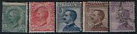 1908 итальянские почтовые марки