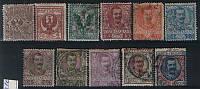 Италия - полная серия 1901 года