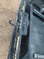 Накладка на порог багажника Черный Хром (нерж) - Mercedes Vito / V W447 2014+ гг.