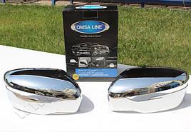 Накладки на зеркала 2014+ (2 шт, пласт.) - Nissan Juke 2010+ гг.