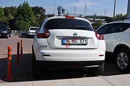 Кромка багажника (нерж.) - Nissan Juke 2010+ гг.