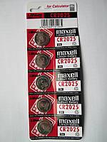 Батарейки MAXELL CR2025