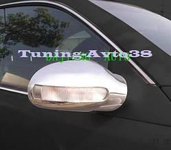 Накладки на зеркала (2 шт, пласт) - Mercedes A-klass W168 1997-2004 гг.