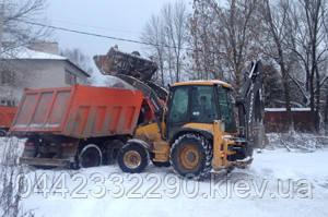 Розчищення і вивезення снігу в Київській області