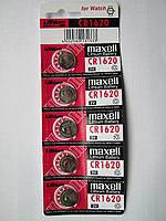 Батарейки MAXELL CR1620