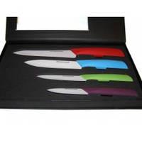 Набор керамических ножей 4 в 1 in Black Box, фото 1