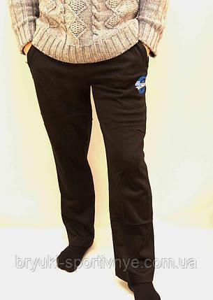 Штаны спортивные мужские тёплые - карманы на молнии, фото 2