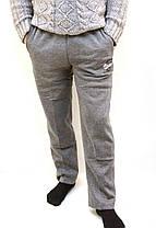 Штаны спортивные мужские тёплые - карманы на молнии, фото 3