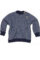 Флисовый свитер Cosilana на пуговицах арт. 46931 синий
