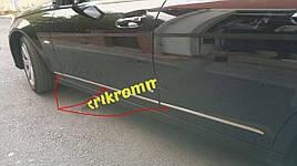 Накладки на дверные молдинги (нерж) - Mercedes C-Klass W204