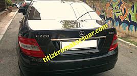 Хром планка над номером (нерж) - Mercedes C-Klass W204