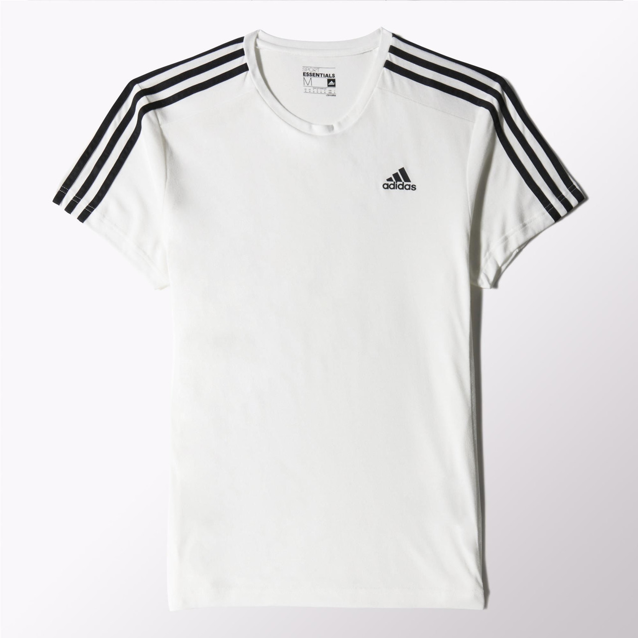 313bac07dd810 Мужская футболка Adidas Sport Essentials 3-Stripes (Артикул: S17661) -  Интернет-
