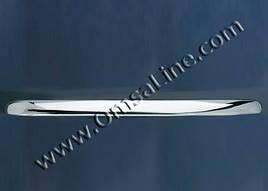 Накладка над номером (нерж.) - Mercedes CLK W208