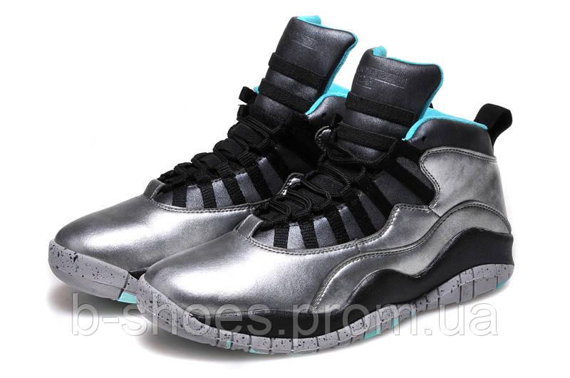 Мужские кроссовки Air Jordan Retro 10 (Dust/Metallic Gold/Black-Retro)
