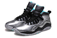 Мужские кроссовки Air Jordan Retro 10 (Dust/Metallic Gold/Black-Retro), фото 1