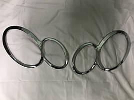 Накладки на фары - Mercedes CLK W209