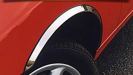 Накладки на арки (4 шт, нерж) - Mercedes CLK W209