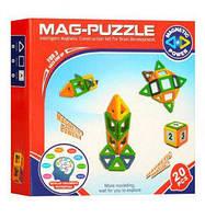 Магнитный конструктор 3D Magical Magnet 20 деталей DZ-20A