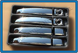 Накладки на ручки (Турецкая сталь Carmos 4 шт) - Nissan NV300 2016+ гг.