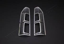 Накладки на стопы (2 шт, пласт) - Nissan NV300 2016+ гг.