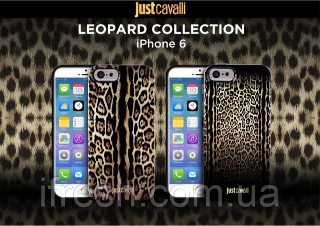 Чехол Just Cavalli для iPhone 5se/5s/5 силикон