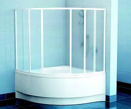 Шторы и двери для угловых ванн Ravak