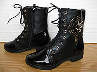 Ботинки для девочки СД10 (32-37)