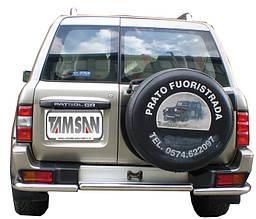 Задняя дуга AK005-1 (нерж) - Nissan Patrol Y61 1997-2011 гг.