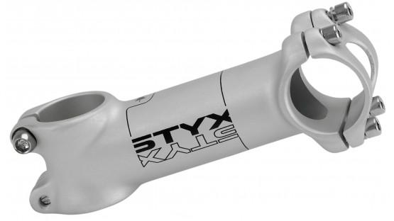 "Вынос руля 1 1/8"" STYX 31,8, 80мм, алюминий, белый"