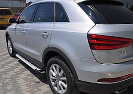 Боковые площадки Allmond (2 шт., алюминий) - Mercedes G klass W463