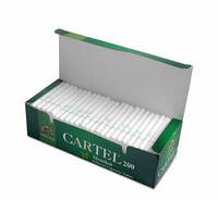Гильзы для набивки сигарет CARTEL Ментол (200)