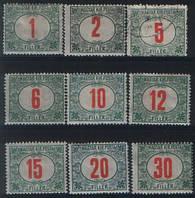 Доплатные марки Венгрии. Полная серия