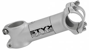 "Вынос руля 1 1/8"" STYX 31,8, 90 мм, алюминий белый"