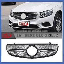 Тюнинг решетка (Diamond) - Mercedes GLC coupe C253