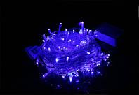 Новогодняя светодиодная гирлянда 200 диодов синяя
