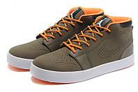 Мужские кроссовки Jordan AJ V.1 (DarkBrown/Orange/White), фото 1