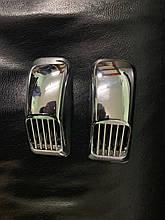"""Решетка на повторитель """"Прямоугольник"""" (2 шт, ABS) - Mercedes W111"""